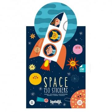 """Stickers repositionnables """"Space"""" par Londji"""