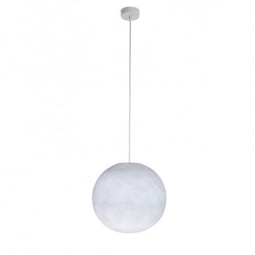 """Luminaire """"Globe grand blanc"""" par La Case de Cousin Paul"""