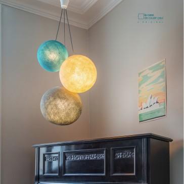 Combinaison de suspensions Globes grands par La Case de Cousin Paul