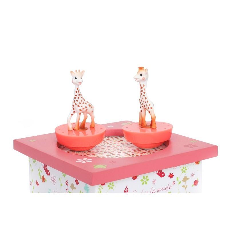 """Boîte à musique """"Sophie la girafe"""" par Trousselier"""