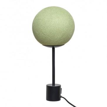 Lampe vert clair, vert tilleul, par La Case de Cousin Paul
