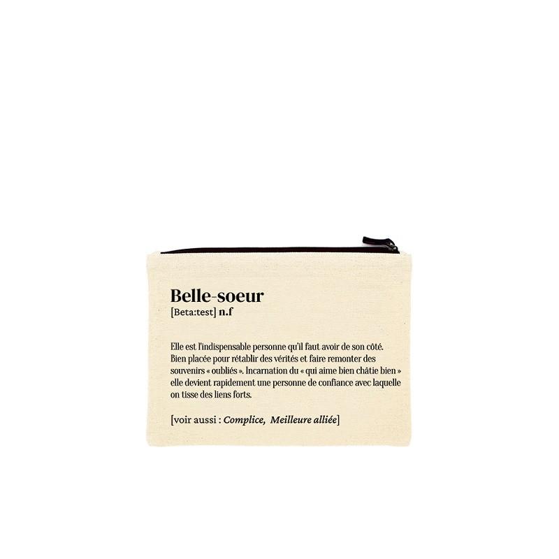 "Pochette ""Belle soeur"" par Hindbag"