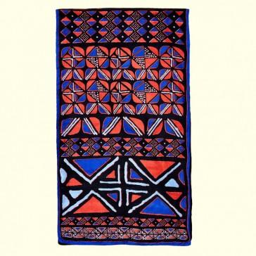 Grand foulard bleu marine par La Fiancée du Mékong