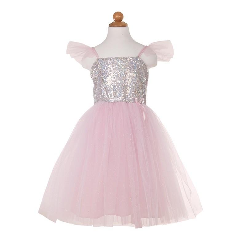 """Déguisement pour enfant """"Robe de princesse à sequins"""" par Great Pretenders"""