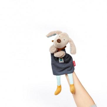"""Peluche doudou & marionnette """"Hügge Hug le chien"""" par Sigikid"""
