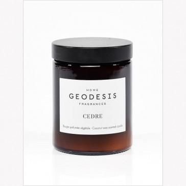 """Bougie végétale """"Nature Cèdre"""" par Geodesis"""