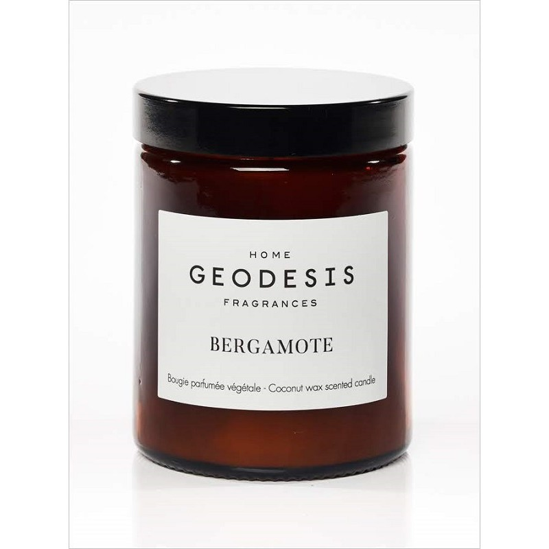 """Bougie végétale """"Nature Bergamote"""" par Geodesis"""