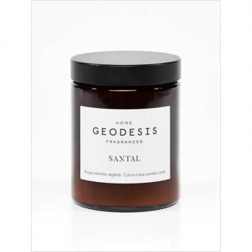 """Bougie végétale """"Nature Santal"""" par Geodesis"""