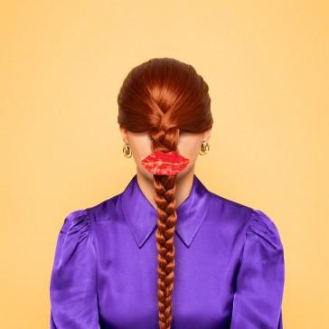 Grosse pince pour les cheveux par Coucou Suzette, modèle Bouche