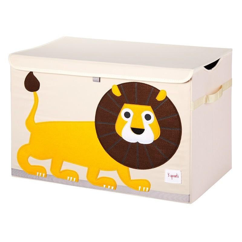 """Coffre à jouets pliable """"Lion"""" par 3 Sprouts"""