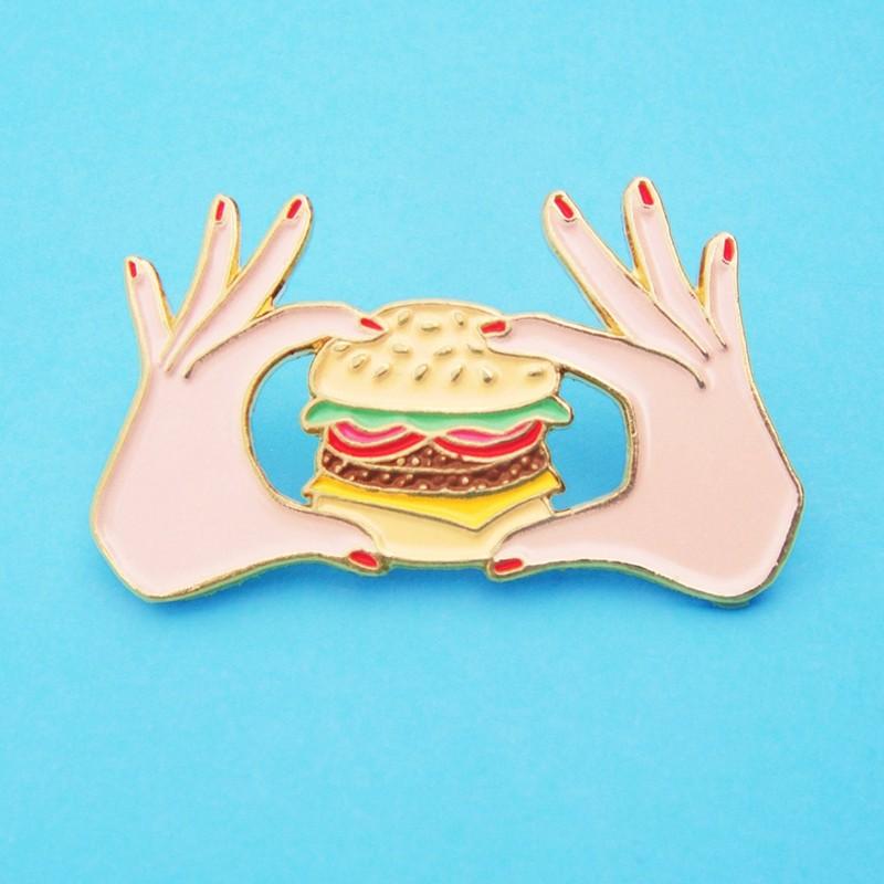 """Pins """"Burger"""" par Coucou Suzette"""