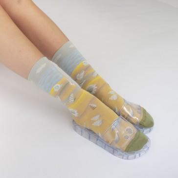 Paire de chaussettes Coquillage multico par Bonne Maison