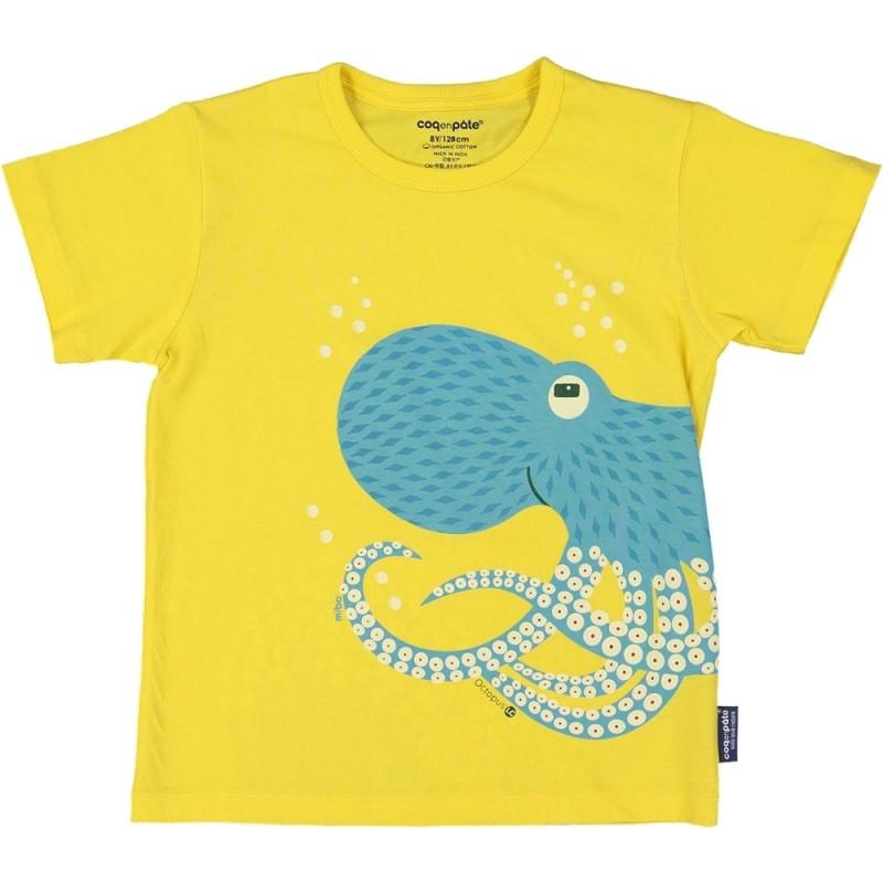 """T-shirt pour enfant """"Poulpe"""" par Coq en Pâte"""