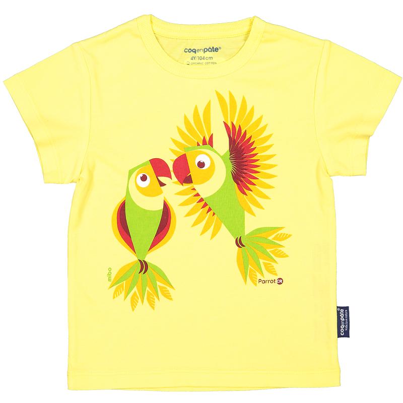 """T-shirt pour enfant """"Perruches"""" par Coq en Pâte"""