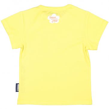 """Dos du t-shirt à manches courtes pour enfant """"Perruches"""" par Coq en Pâte"""