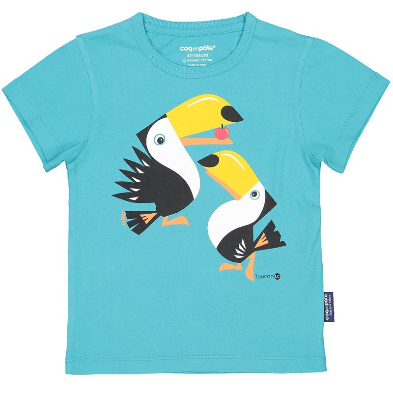 """T-shirt pour enfant """"Toucan"""" par Coq en Pâte"""