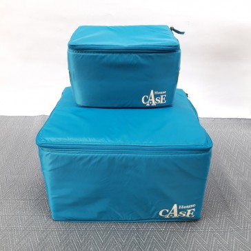 Rangement House Case Small bleu Lagon par Bensimon