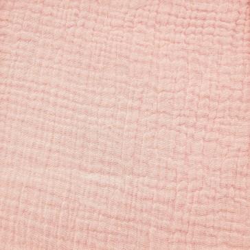 """Tissu en gaze de coton à la coupe """"Rose pétale"""" par Domotex"""