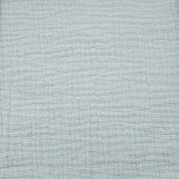 """Tissu en gaze de coton à la coupe """"Menthe claire"""" par Domotex"""