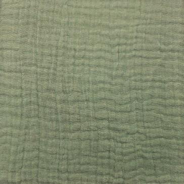"""Tissu en gaze de coton à la coupe """"Eucalyptus"""" par Domotex"""