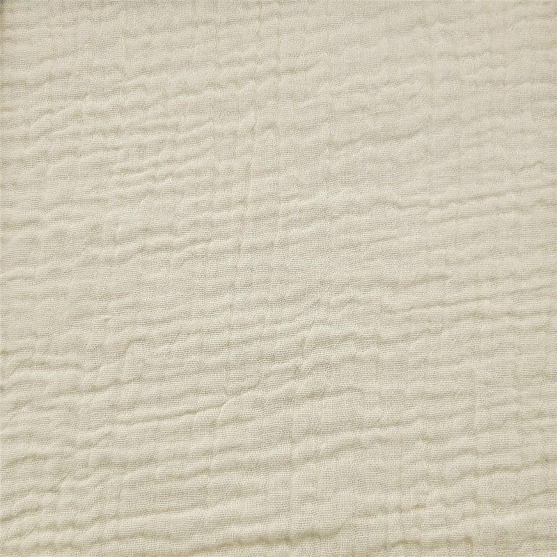 """Tissu en gaze de coton à la coupe """"écru"""" par Domotex"""