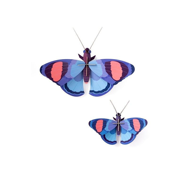 """Décoration murale à assembler en duo """"Papillon géant"""" par studio ROOF"""