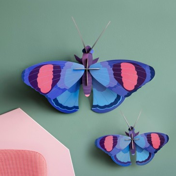 """Décorations murales à assembler en duo """"Papillon géant"""" par studio ROOF"""