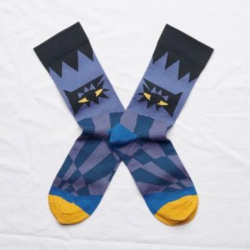 """Paire de chaussettes """"Oeil nuit"""" par Bonne Maison"""