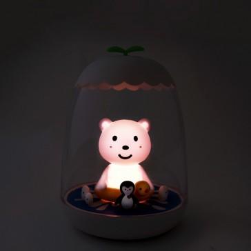 """Veilleuse rechargeable tactile """"Ours"""" par Petit Akio"""