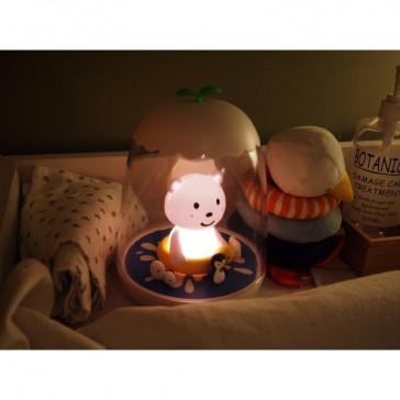 """Veilleuse rechargeable magique """"Ours"""" par Petit Akio"""
