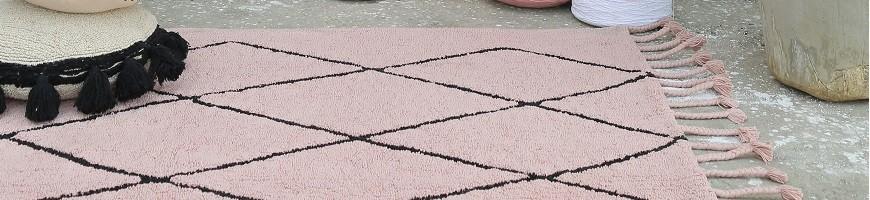 Des tapis pour le salon, des tapis pour la chambre, des tapis originaux et faciles à vivre