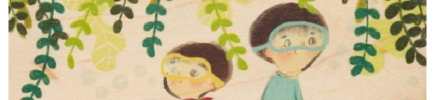 Papeterie pour enfants: carnets, cartes et invitations pour les anniversaires, cahiers de dessin...