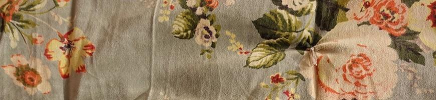 Rideaux, plaids, serviettes d'invités et autres textiles d'ameublement